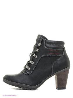 Ботинки s.Oliver                                                                                                              черный цвет