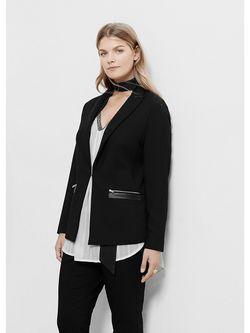 Пиджаки Violeta by Mango                                                                                                              черный цвет