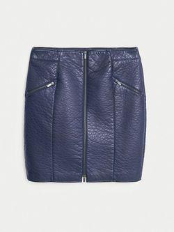 Юбки Violeta by Mango                                                                                                              синий цвет
