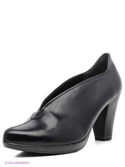 Туфли Marco Tozzi                                                                                                              чёрный цвет