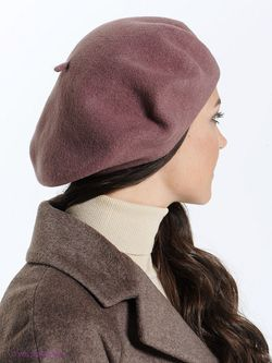 Береты Ваша Шляпка                                                                                                              бежевый цвет