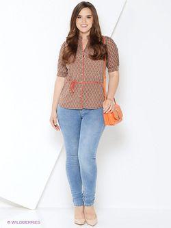 Блузки Milana Style                                                                                                              бежевый цвет