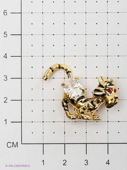 Броши Bijoux Land                                                                                                              Золотистый цвет