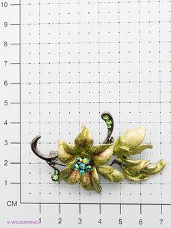 Броши Bijoux Land                                                                                                              зелёный цвет