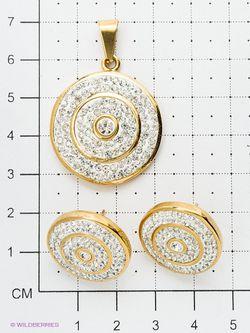 Комплекты Бижутерии Happy Garnets                                                                                                              белый цвет