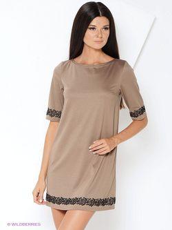 Платья ELENA FEDEL                                                                                                              бежевый цвет