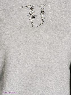 Лонгслив Trussardi                                                                                                              серый цвет