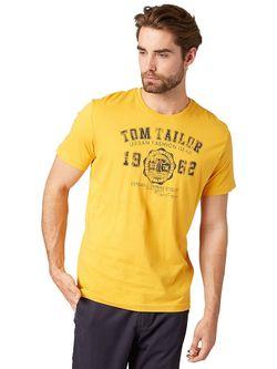 Футболки TOM TAILOR                                                                                                              желтый цвет