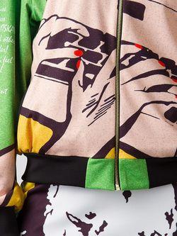 Куртки Vika Smolyanitskaya                                                                                                              зелёный цвет