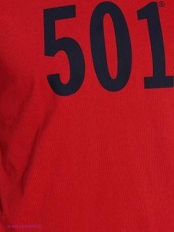Футболка Levi's®                                                                                                              красный цвет