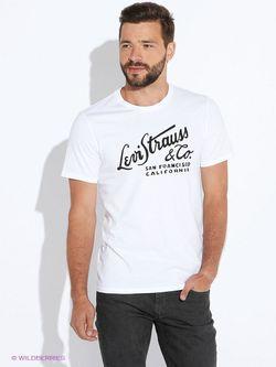 Футболка Levi's®                                                                                                              белый цвет