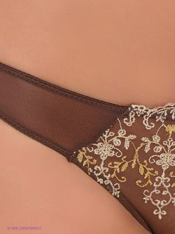 Трусы Oodji                                                                                                              коричневый цвет