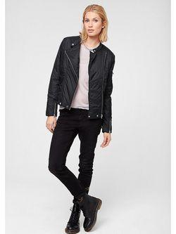 Куртки s.Oliver                                                                                                              черный цвет