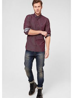 Рубашки s.Oliver                                                                                                              красный цвет
