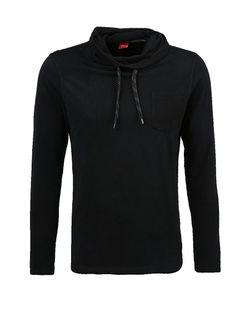 Лонгслив s.Oliver                                                                                                              черный цвет