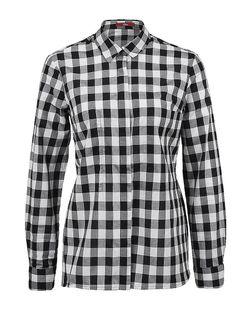 Рубашки s.Oliver                                                                                                              чёрный цвет