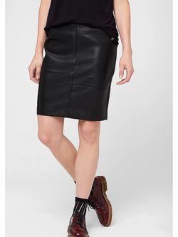 Юбки s.Oliver                                                                                                              черный цвет