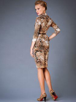 Платья Арт-Деко                                                                                                              коричневый цвет