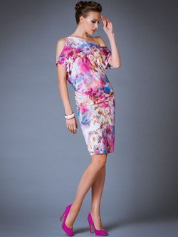 Платья Арт-Деко                                                                                                              розовый цвет
