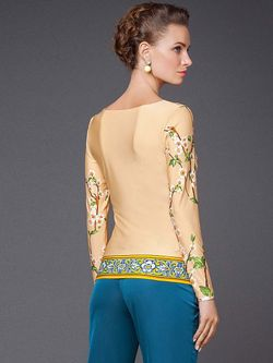 Блузки Арт-Деко                                                                                                              бежевый цвет
