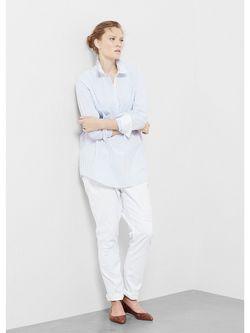 Блузки Violeta by Mango                                                                                                              синий цвет