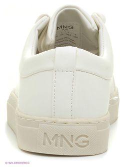 Кеды Mango Man                                                                                                              белый цвет