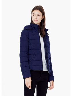 Куртки Mango                                                                                                              синий цвет