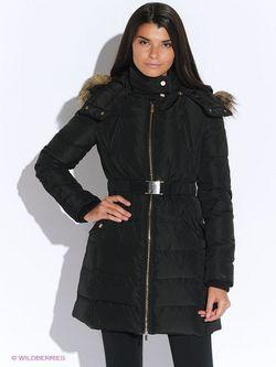Куртки Mango                                                                                                              черный цвет
