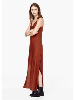 Платья Mango                                                                                                              Терракотовый цвет