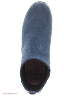 Полусапожки Crocs                                                                                                              синий цвет