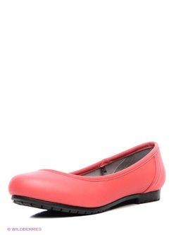 Балетки Crocs                                                                                                              чёрный цвет