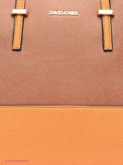 Сумки David Jones                                                                                                              оранжевый цвет