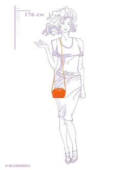 Сумки Antan                                                                                                              оранжевый цвет