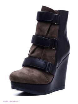 Ботинки Yaro                                                                                                              чёрный цвет