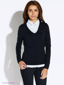 Пуловеры Tommy Hilfiger                                                                                                              синий цвет