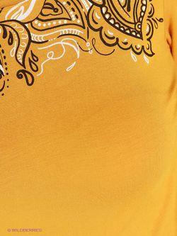 Лонгслив Finn Flare                                                                                                              желтый цвет