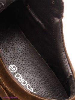 Ботинки Tesoro                                                                                                              коричневый цвет