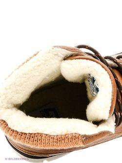 Ботинки Crosby                                                                                                              коричневый цвет