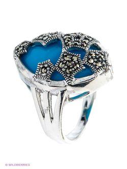 Ювелирные Кольца Silver Wings                                                                                                              синий цвет