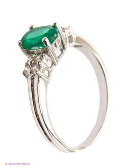Ювелирные Кольца Silver Wings                                                                                                              зелёный цвет