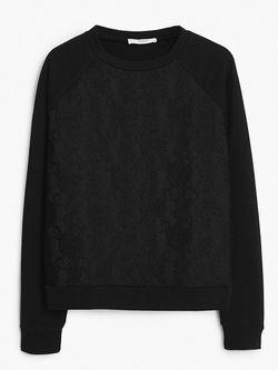Джемперы Mango                                                                                                              черный цвет