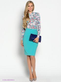 Лонгслив Stets                                                                                                              голубой цвет