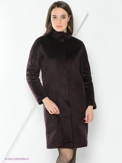Пальто Анна Чапман                                                                                                              фиолетовый цвет