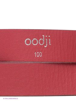 Ремни Oodji                                                                                                              красный цвет