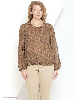 Блузки La Via Estelar                                                                                                              коричневый цвет