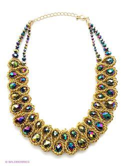 Колье Lovely Jewelry                                                                                                              желтый цвет
