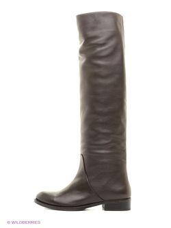 Ботфорты Velvet                                                                                                              коричневый цвет