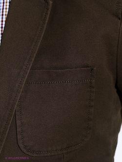 Пиджаки Oodji                                                                                                              коричневый цвет