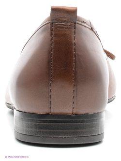 Балетки Tamaris                                                                                                              коричневый цвет