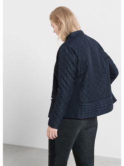 Куртки Violeta by Mango                                                                                                              синий цвет